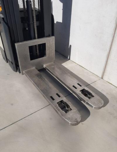 Crown 1,6 ton tweedehands stapelaar - vorkenbord