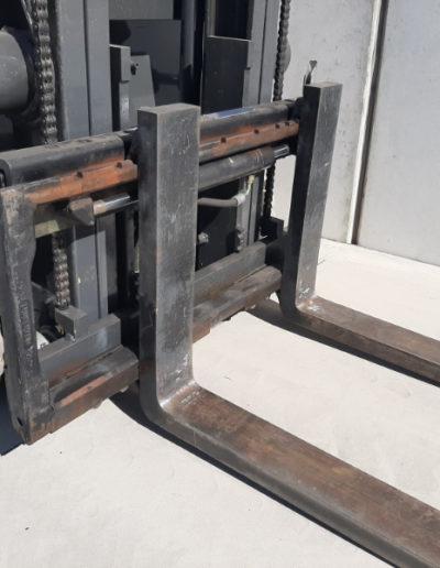 Nissan 1,5 ton tweedehands heftruck - vorkenbord