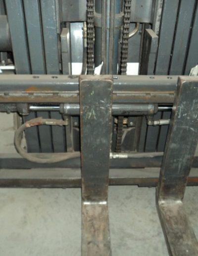 Nissan 1,8 ton tweedehands elektrische heftruck - vorkenbord