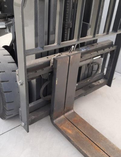 Nissan 1,8 ton tweedehands heftruck - vorkenbord