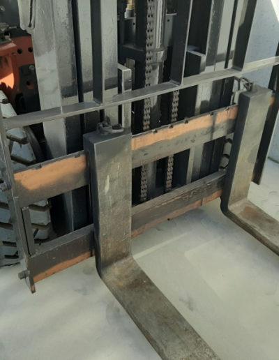 Nissan 2,5 ton tweedehands heftruck - vorkenbord