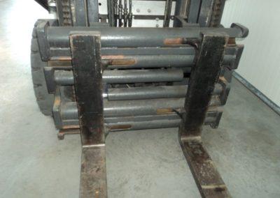 Nissan 3 ton tweedehands heftruck - vorkenbord
