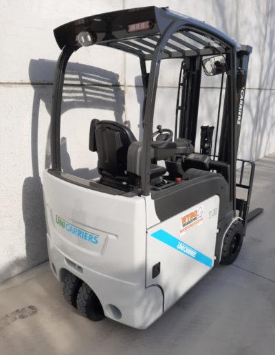 UniCarriers 1,8 ton elektrische heftruck - achterkant