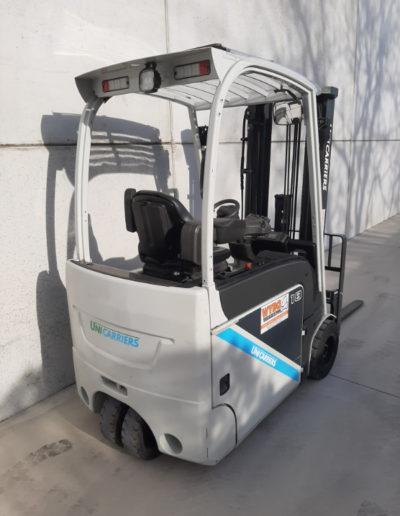 UniCarriers 1,8 ton tweedehands elektrische heftruck - achterkant