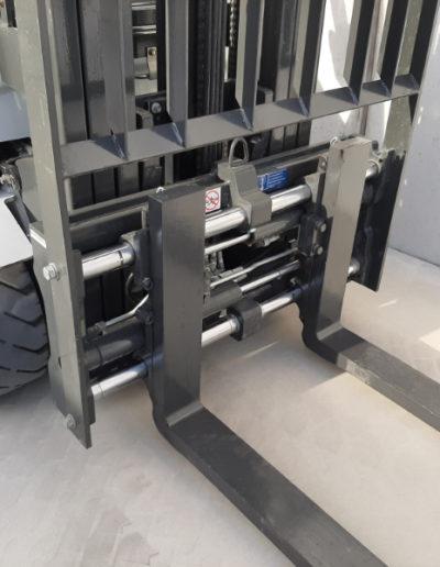 UniCarriers 1,8 ton tweedehands elektrische heftruck - vorkenbord