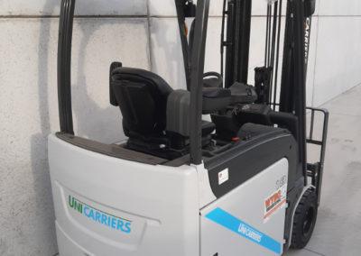 UniCarriers 1,8 ton heftruck - achterkant