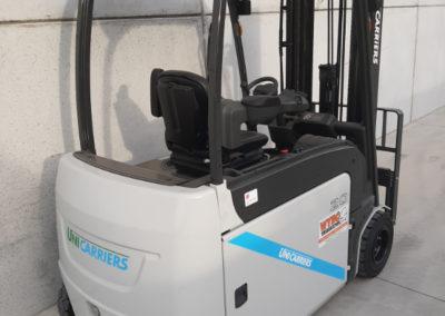 UniCarriers 2 ton heftruck - achterkant