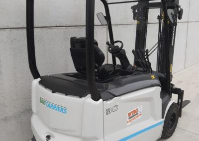 UniCarriers 3 ton heftruck - achterkant