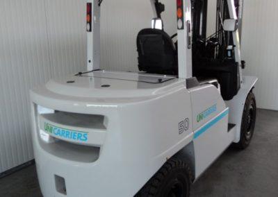 UniCarriers 5 ton tweedehands heftruck - achterkant