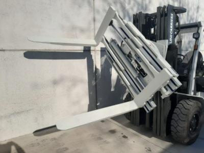 hydraulische roterende vorkversteller