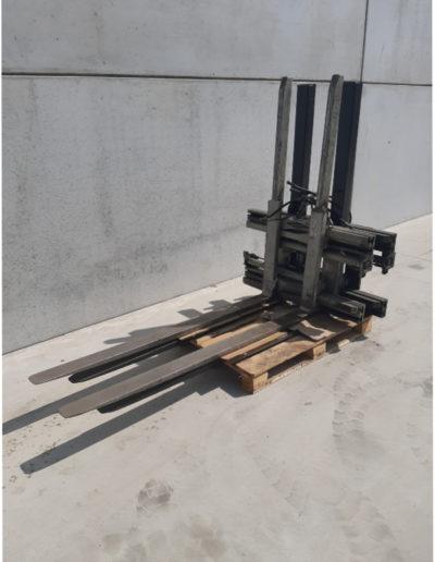 1,2 ton tweedehands hydraulische vorkverstellers
