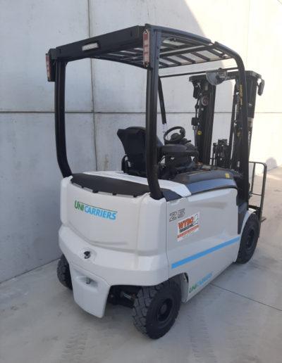 2.5 ton elektrische heftruck - achterkant
