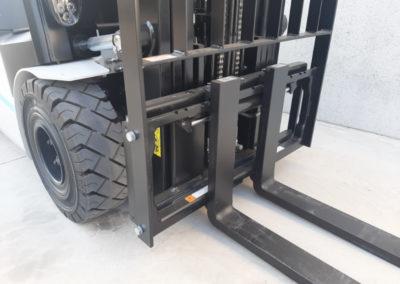 2,5 ton elektrische heftruck - vorkenbord