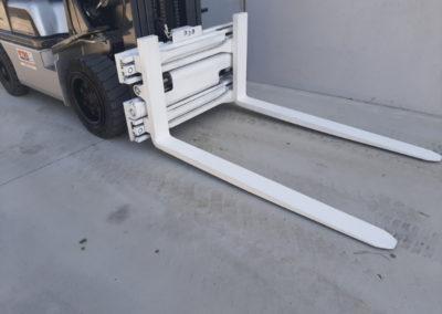 3,2 ton tweedehands heftruck - vorkenbord
