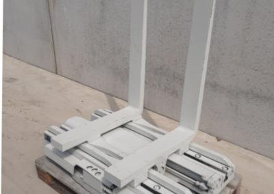 3,5 ton tweedehands hydraulische vorkenklem