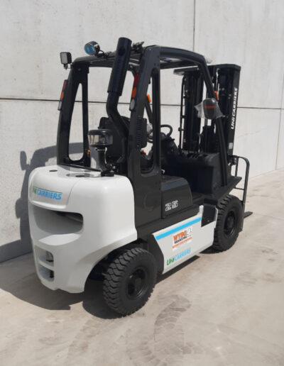 UniCarriers 2,5 Ton diesel heftruck - achterkant