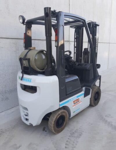 1,5 ton 2dehands LPG heftruck - achterkant