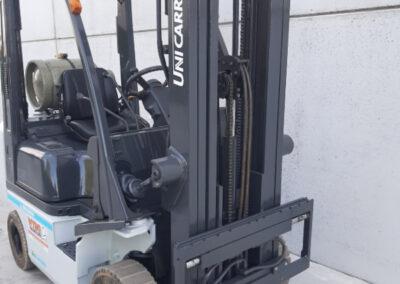 1,5 ton 2dehands LPG heftruck - mast