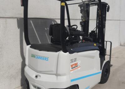 UniCarriers 2,5 Ton nieuwe elektrische heftruck - achterkant