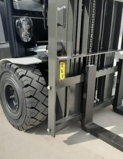 UniCarriers 2,5 Ton nieuwe elektrische heftruck - voorbouw