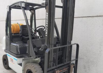 2,5 ton 2de hands LPG heftruck - mast