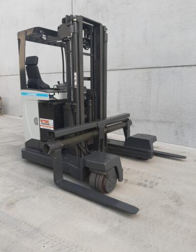 2,5 ton 2de hands elektrische zijlader