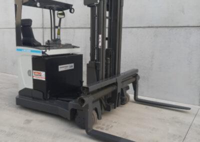 2,5 ton tweedehands elektrische zijlader
