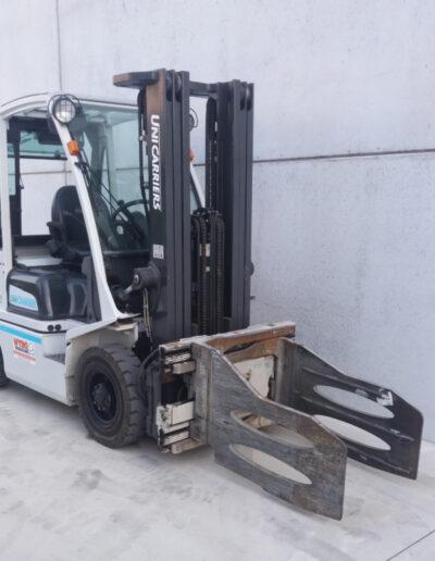 2,5 Ton 2de hands diesel heftruck - mast