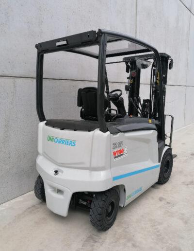 UniCarriers 2,5 ton elektrische heftruck - achterkant