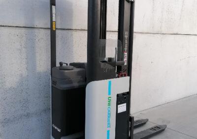 1,6 Ton 2dehands compacte elektrisch instaande stapelaar Nissan_UniCarriers - achterkant