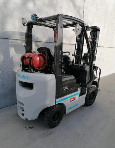 1,8 Ton nieuwe LPG heftruck Nissan_UniCarriers - achterkant