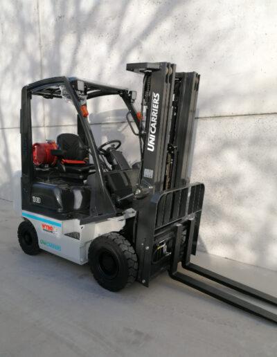 1,8 Ton nieuwe LPG heftruck Nissan_UniCarriers - mast