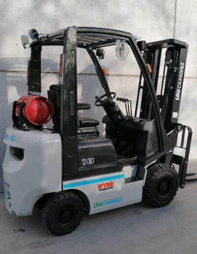 1,8 Ton nieuwe LPG heftruck Nissan_UniCarriers - zijkant