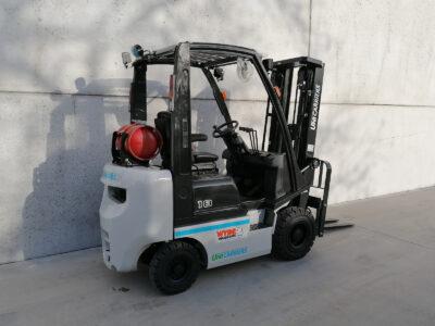 1,8 Ton nieuwe LPG heftruck UniCarriers - zijkant