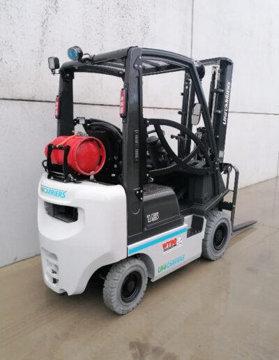 UniCarriers 1,5 ton nieuwe LPG heftruck - achterkant