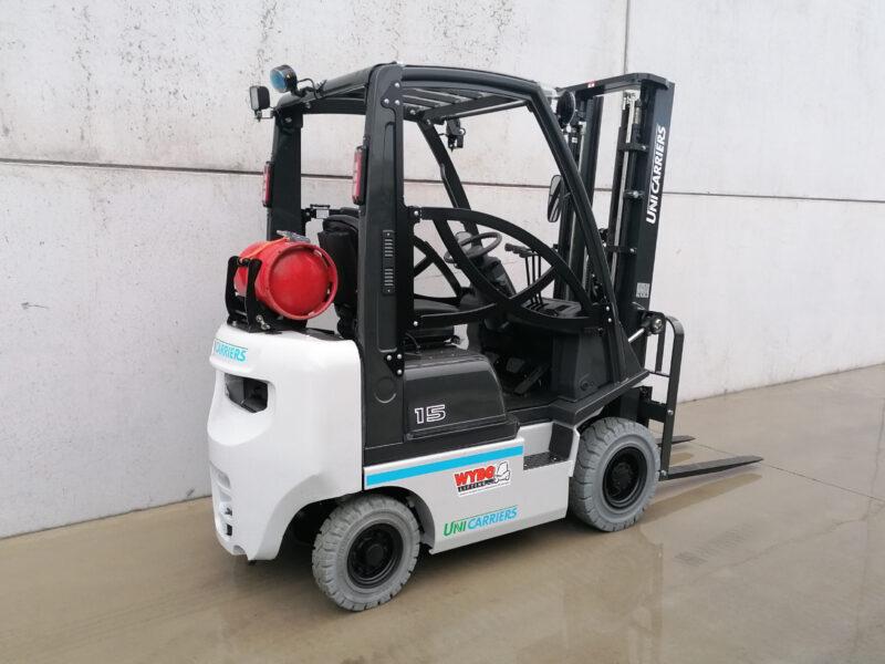 UniCarriers 1,5 ton nieuwe LPG heftruck - zijkant