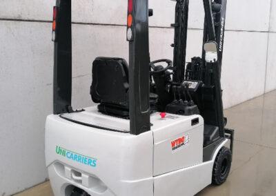 UniCarriers 1,6Ton 2dehands elektrische heftruck - achterkant