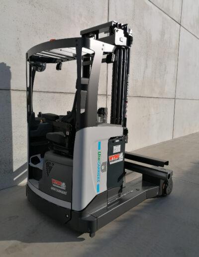 UniCarriers 2,5 ton nieuwe elektrische zijlader - achterkant
