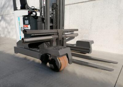 UniCarriers 2,5 ton nieuwe elektrische zijlader - voorbouw