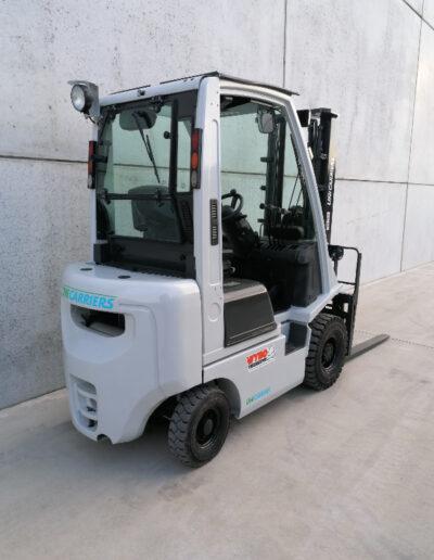 UniCarriers 1,8 Ton Diesel tweedehands heftruck - achterkant