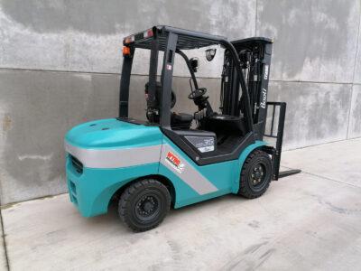 Baoli ( Kion Group ) 3,5 ton nieuwe diesel heftruck - zijkant