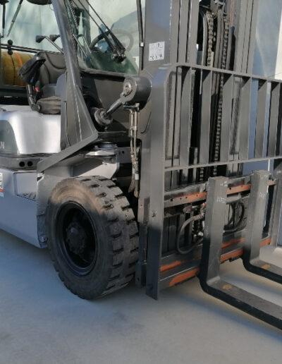 Nissan 2,5 Ton tweede hands LPG heftruck - voorbouw