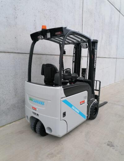 UniCarriers 1,8 Ton nieuwe elektrische 3 wiel heftruck - achterkant