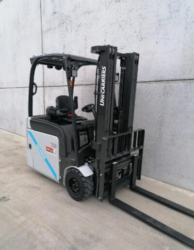 UniCarriers 1,8 Ton nieuwe elektrische 3 wiel heftruck - mast