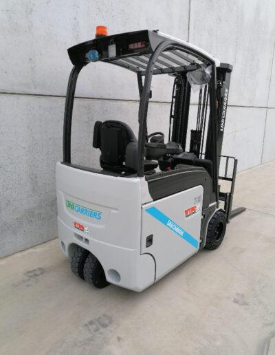 UniCarriers 1,8 Ton nieuwe elektrische heftruck - achterkant