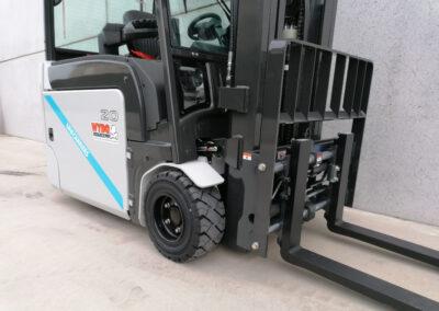 UniCarriers 2 Ton nieuwe elektrische heftruck - voorbouw