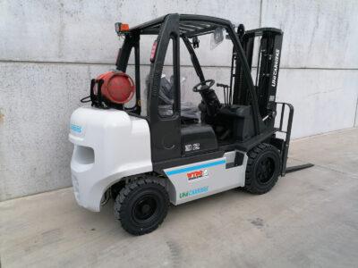 UniCarriers 3,2 Ton LPG nieuwe heftruck - zijkant