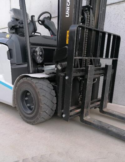 UniCarriers 3,5 ton nieuwe elektrische heftruck - voorbouw
