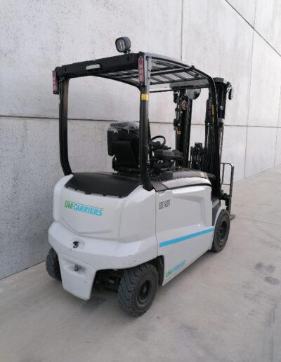 UniCarriers 3,5 ton nieuwe elektrische heftruck - achterkant