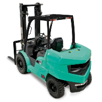 FG _ FD Mitsubishi - Wybo Lifting heftrucks LPG en Diesel